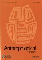 anthropological forum 001
